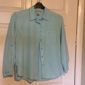 Dress Barn blouse, size small